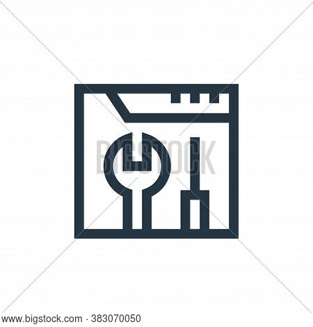 repair icon isolated on white background from web maintenance collection. repair icon trendy and mod