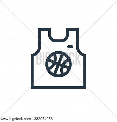 sport wear icon isolated on white background from daily life wake up collection. sport wear icon tre