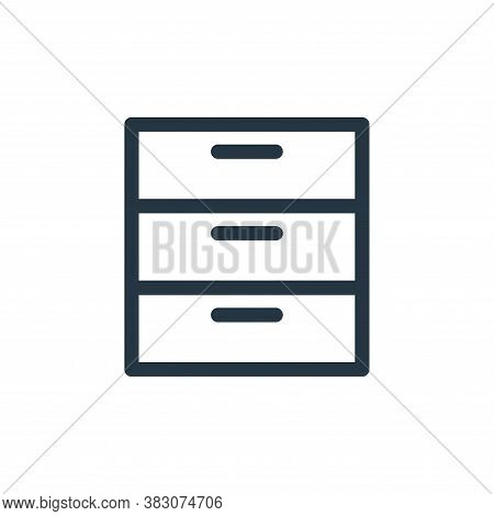 archive icon isolated on white background from business and office collection. archive icon trendy a