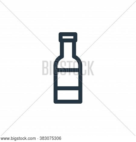 bottle icon isolated on white background from miscellaneous collection. bottle icon trendy and moder