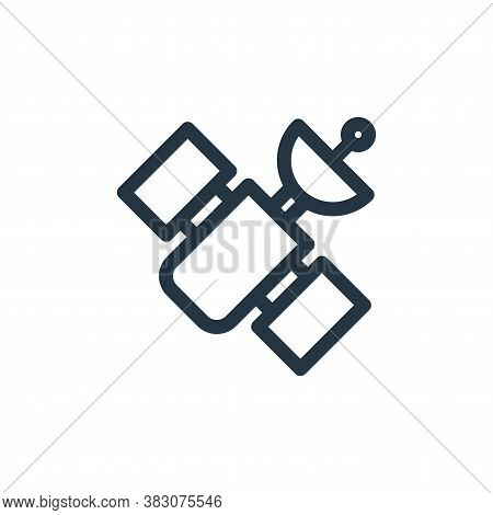 satellite icon isolated on white background from miscellaneous collection. satellite icon trendy and