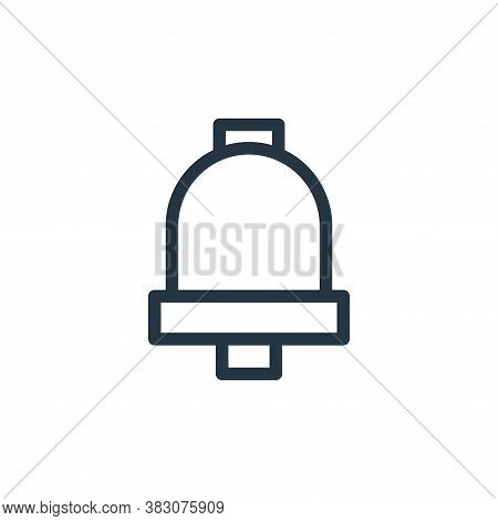 bell icon isolated on white background from ui collection. bell icon trendy and modern bell symbol f
