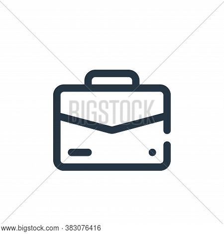 suitcase icon isolated on white background from user interface collection. suitcase icon trendy and