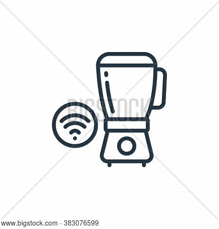 blender icon isolated on white background from internet of things collection. blender icon trendy an