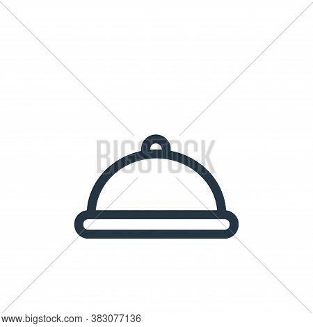plate icon isolated on white background from miscellaneous collection. plate icon trendy and modern