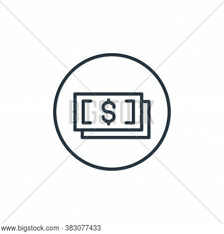bills icon isolated on white background from general collection. bills icon trendy and modern bills
