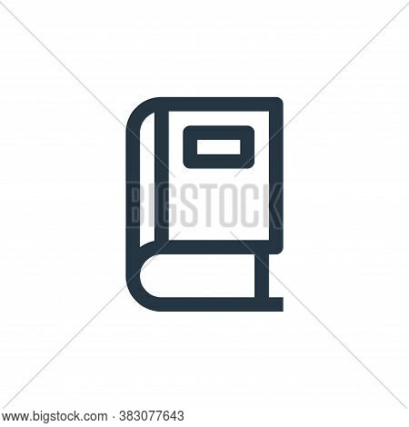 book icon isolated on white background from online shop categories collection. book icon trendy and
