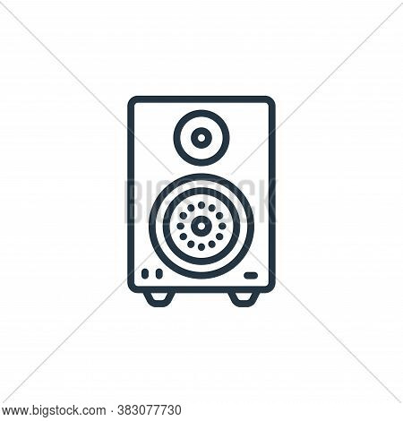 amplifier icon isolated on white background from internet of things collection. amplifier icon trend