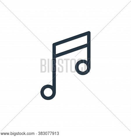 Song Icon From Ui Collection Isolated On White Background.
