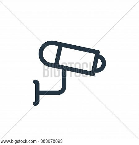 cctv icon isolated on white background from miscellaneous collection. cctv icon trendy and modern cc