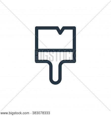 paintbrush icon isolated on white background from miscellaneous collection. paintbrush icon trendy a