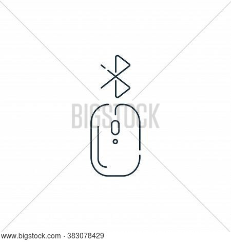 mouse icon isolated on white background from hardware and technology collection. mouse icon trendy a