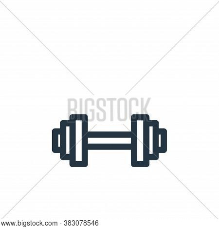 gym icon isolated on white background from miscellaneous collection. gym icon trendy and modern gym