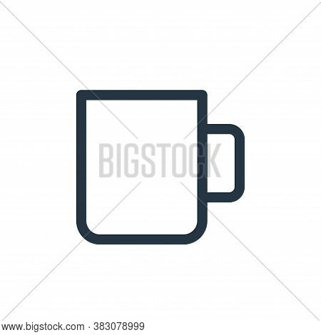 cup icon isolated on white background from miscellaneous collection. cup icon trendy and modern cup