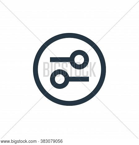 options icon isolated on white background from interaction collection. options icon trendy and moder