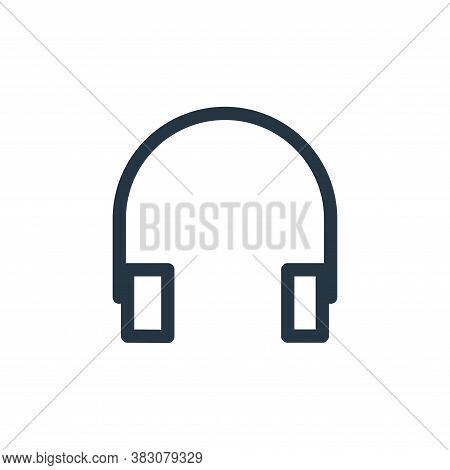 earphones icon isolated on white background from miscellaneous collection. earphones icon trendy and