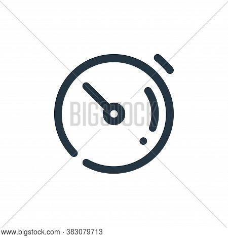 timer icon isolated on white background from user interface collection. timer icon trendy and modern