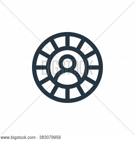 skills icon isolated on white background from business administration collection. skills icon trendy