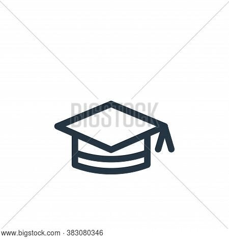 hat icon isolated on white background from miscellaneous collection. hat icon trendy and modern hat