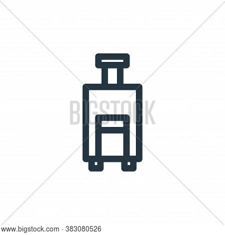 luggage icon isolated on white background from miscellaneous collection. luggage icon trendy and mod