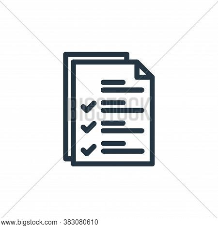 file icon isolated on white background from protection collection. file icon trendy and modern file