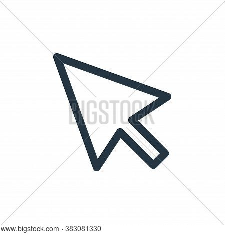 cursor icon isolated on white background from miscellaneous collection. cursor icon trendy and moder