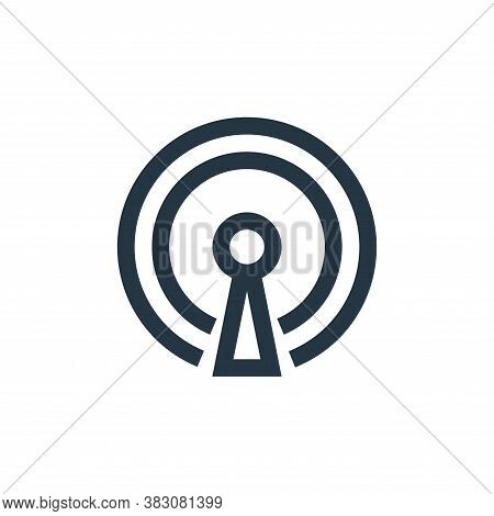 signal icon isolated on white background from interaction collection. signal icon trendy and modern