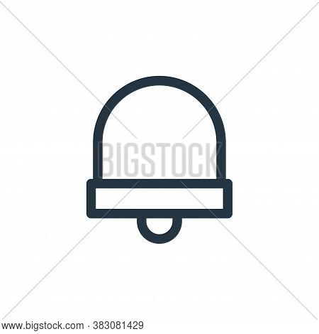 notification icon isolated on white background from miscellaneous collection. notification icon tren