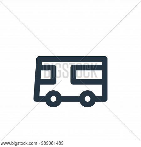 bus icon isolated on white background from transportation collection. bus icon trendy and modern bus