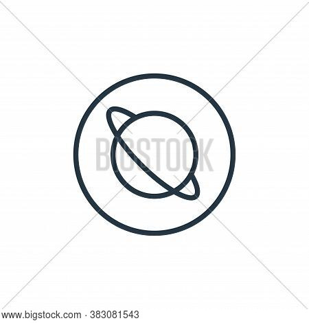 astronomy icon isolated on white background from online learning collection. astronomy icon trendy a
