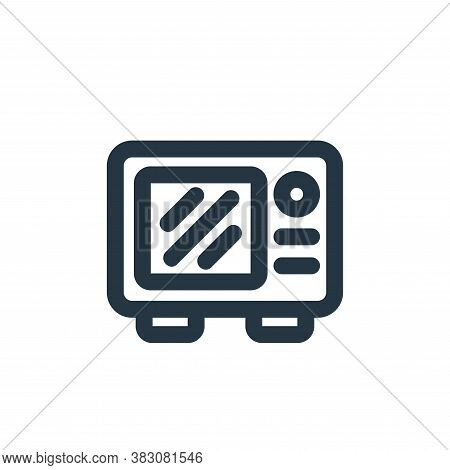 microwave icon isolated on white background from restaurant collection. microwave icon trendy and mo