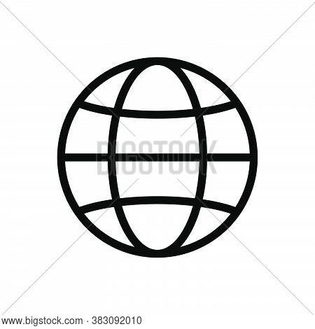Web, Website, Internet Symbol Line Icon, Vector Illustration