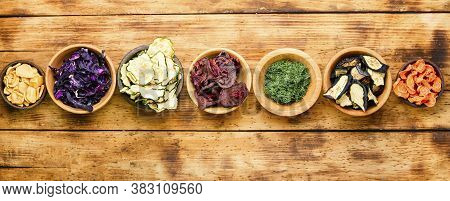 Assortment Of Dry Vegetables