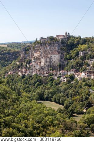 Pilgrimage Town Of Rocamadour, Episcopal City And Sanctuary Of The Blessed Virgin Mary, Lot, Midi-py