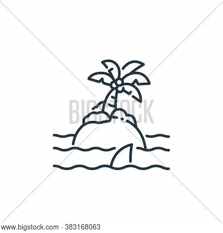island icon isolated on white background from pirate collection. island icon trendy and modern islan