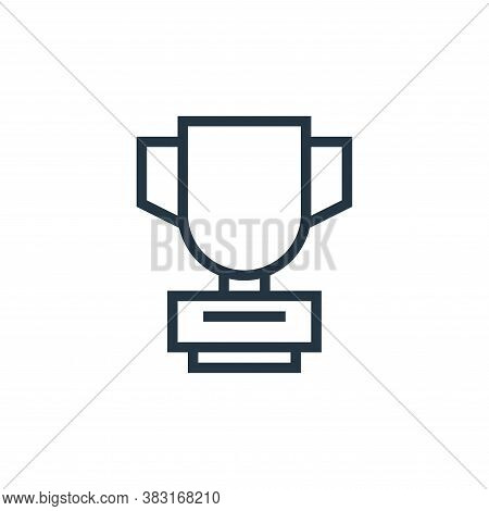 award icon isolated on white background from business collection. award icon trendy and modern award