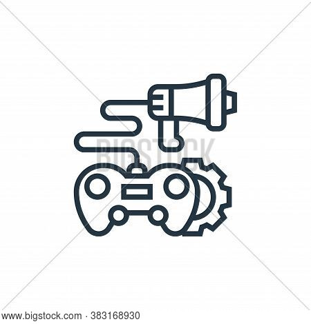 game icon isolated on white background from digital marketing collection. game icon trendy and moder
