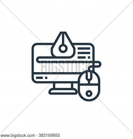 design icon isolated on white background from industrial process collection. design icon trendy and