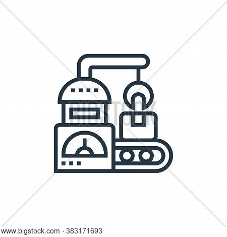 processing icon isolated on white background from industry collection. processing icon trendy and mo