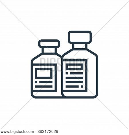 bottles icon isolated on white background from industrial process collection. bottles icon trendy an