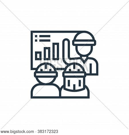engineer icon isolated on white background from industry collection. engineer icon trendy and modern