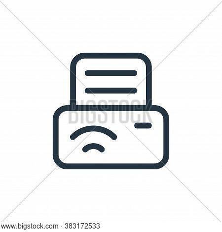 printer icon isolated on white background from media collection. printer icon trendy and modern prin