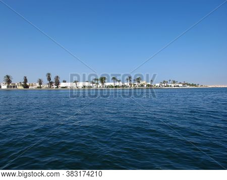 The Marina In Paracas City On The Pacific Ocean, Peru