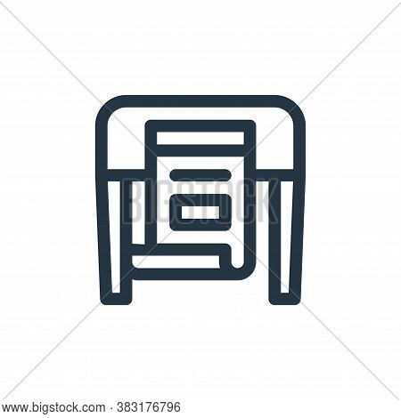 printer icon isolated on white background from graphic design collection. printer icon trendy and mo