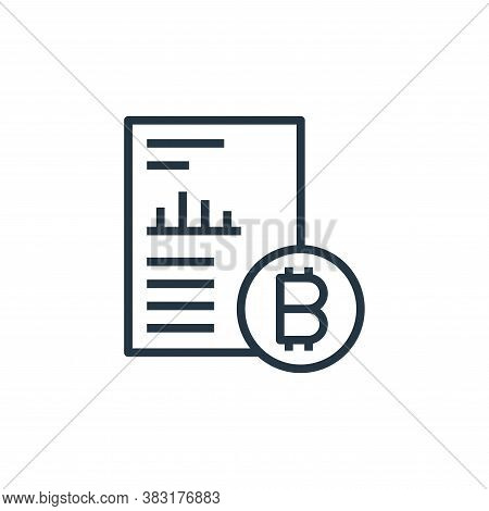 cryptocurrency icon isolated on white background from startup and development collection. cryptocurr