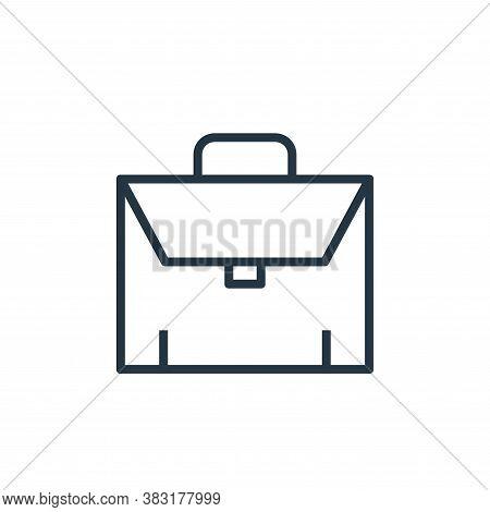 portfolio icon isolated on white background from banking and finance collection. portfolio icon tren