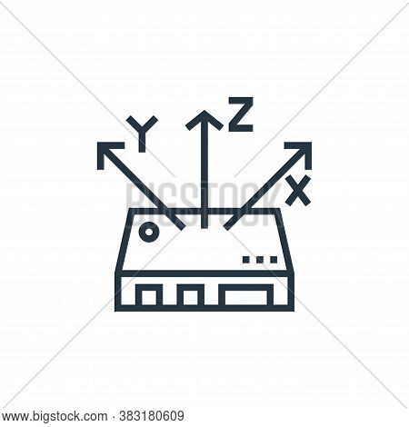 controller icon isolated on white background from drone elements collection. controller icon trendy