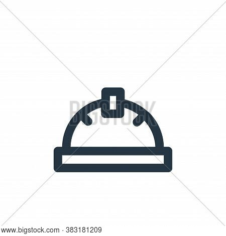 helmet icon isolated on white background from laboor and tools collection. helmet icon trendy and mo