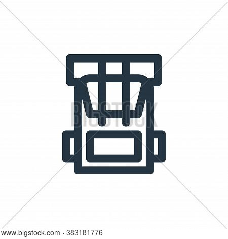bag icon isolated on white background from outdoor collection. bag icon trendy and modern bag symbol