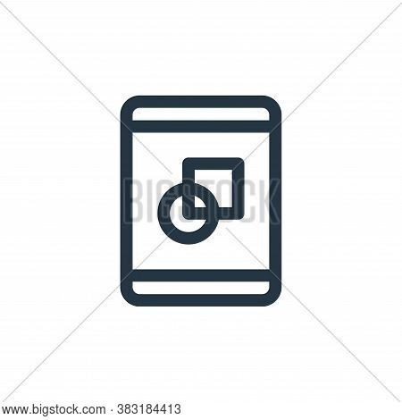 tablet icon isolated on white background from graphic design collection. tablet icon trendy and mode
